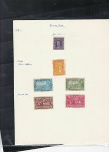 costa rica stamps page ref 18021