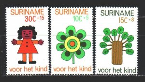 Suriname. 1973. 658-62 from the series. Happy childhood. MNH.