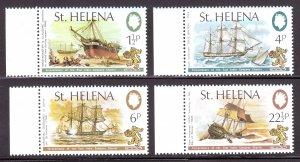 St. Helena - Scott #279-282 - MNH - SCV $3.45