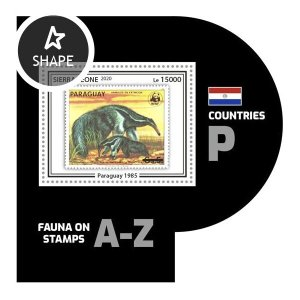 SIERRA LEONE - 2020 - Fauna on Stamps - Perf Souv Sheet #2 - Mint Never Hinged