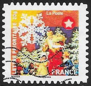France 3910 Used - Christmas