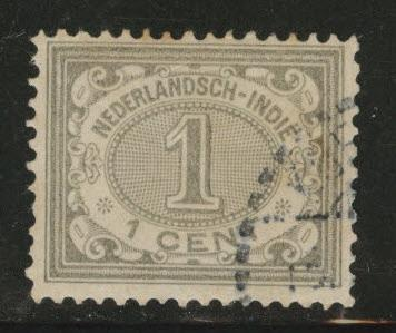 Netherlands Indies  Scott 39 used 1902-09 Numeral