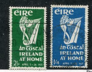IRELAND Sc# 147 & 148 Used F-VF - S8174