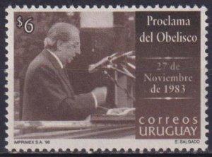 Uruguay 1998 The 15th Anniversary of the 27th of November Democracy Demonstratio