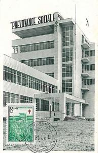 10942 - BELGIUM - POSTAL HISTORY - MAXIMUM CARD  Architecture  MEDICINE Tubercul