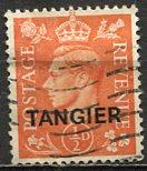 Great Britain - Morocco - Tangier 1951: Sc. # 550 O/Used Single Stamp