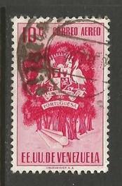 VENEZUELA 584 VFU ARMS Z1887-2
