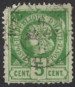 HAITI 10a USED SCV $1.00 PERSON
