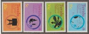 Tuvalu Scott #46-49 Stamps - Mint NH Set