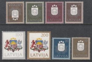 Latvia 300-307 MNH VF
