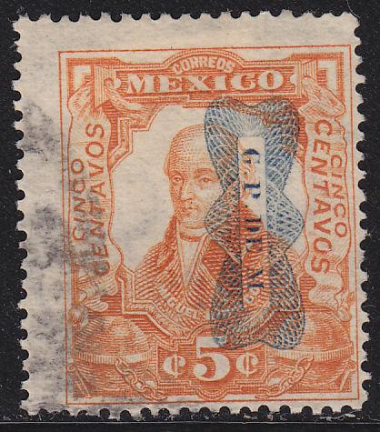 Mexico 521 Hinged Used 1916 Miguel Hidalgo O/P