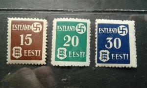 Estonia #N3-5 MNH e201.6425