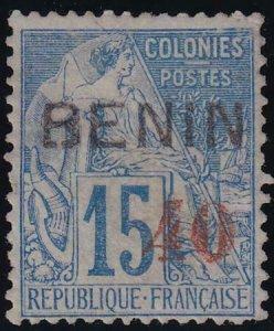 Benin 1892 SC 17 Mint Signed Roumet