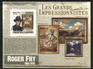Comoro Islands MNH** Roger Fry Impressionist Art sheet