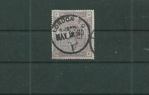 TRADE PRICE STAMPS VICTORIA 2½ SHILLINGS 1883-1884 PERFINED ABC