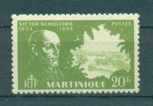 Martinique sc# 216 mh cat value $2.25