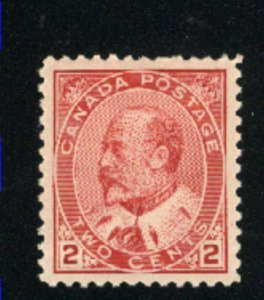 Canada 90  Mint VF 1903   PD
