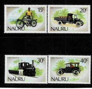 Nauru 1986 Early Transport MNH
