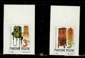 Hungary Scott 3220-3221 Mint NH imperf (Catalog Value $20.00)