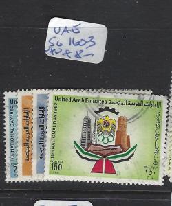 UNITED ARAB EMIRATES (P1810B) SG 160-3    VFU