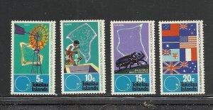 Tokelau #33-6 comp mnh cv $4.10 Flags