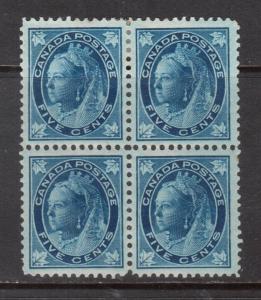 Canada #70 Very Fine Mint Block