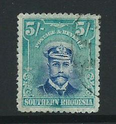 Southern Rhodesia SG 14 good used