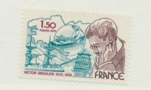 France Scott #1634, Mint Never Hinged MNH, Victor Segalen, Explorer Issue Fro...