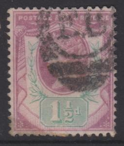 Great Britain QV Sc#112 Used