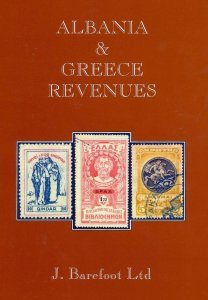 ALBANIA & GREECE Epirus Crete 2002 Barefoot Revenues Stamp Catalogue(118 Pages)