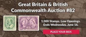 The 82nd Great Britain & Commonwealth Auction