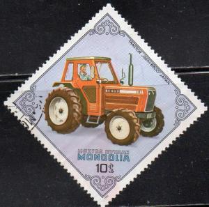 Mongolia 1272 - Cto - Iseki Tractor (Japan)