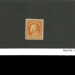 United States Postage Stamp #420 Mint Hinged OG F/VF Catalogue Value $1720