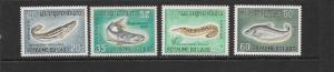 FISH - LAOS #148-151