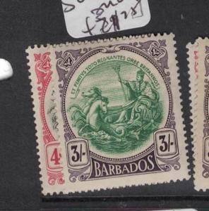 Barbados SG 199-200 MOG (4dsh)