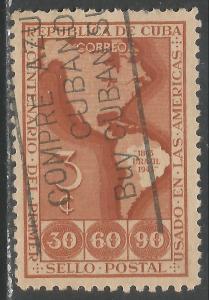 CUBA 393 VFU MAP R12-101-2