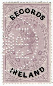 (I.B) QV Revenue : Records Ireland £1