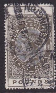 NEW ZEALAND 1880 Stamp Duty £50 used........................................7847