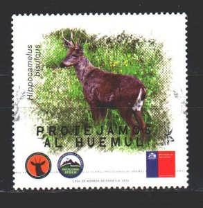 Chile. 2015. 2515 from the series. Deer fauna. MNH.