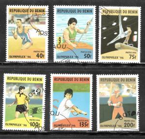 Benin 1996 SC# 857-862