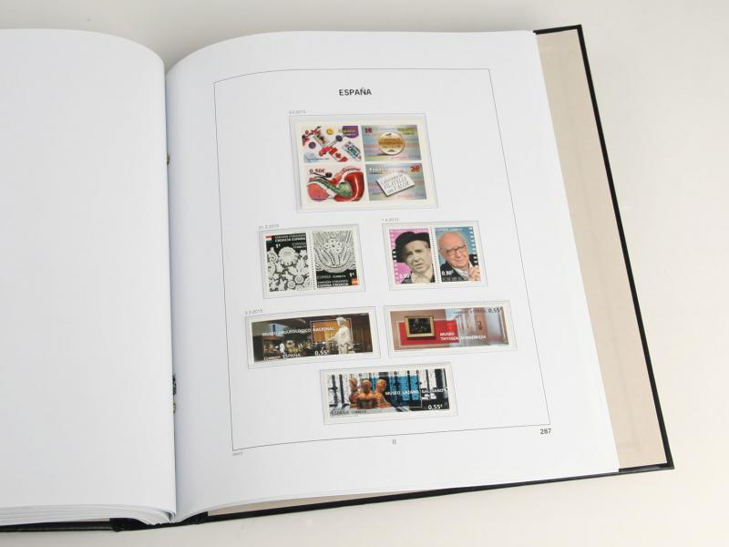 DAVO Luxe Hingless Album Spain IV 1980-1990