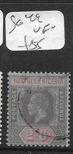 NORTHERN NIGERIA  (PP1405B)  KGV  2/6    SG 49 VFU