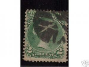 Canada #24 Used **Fancy Cancel**