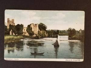 1909 Dublin Ireland to Preston England Desmond's Castle County Limerick Cover