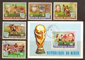 Niger  # 412 - 17  used  CTO       A