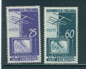 Italy 649-50  MLH cgs
