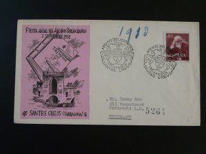 book festival of bibliographic archives cover 1952 Santa Creus Spain 82991