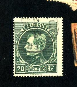 BELGIUM #213 USED FVF Cat $25