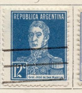 Argentine Republic 1923 Early Issue Fine Used 12c. 087426