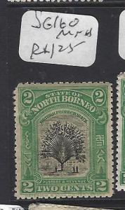 NORTH BORNEO  (P1209B)   2C TREE  SG 160  MNH